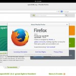 OpenSUSE 13.2 GNOME - Firefox 33