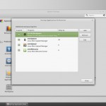 Linux Mint 17_1 Cinnamon : System Settings -  Startup Applications