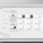 Linux Mint 17_1 Cinnamon : System Settings -  Themes
