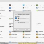 Linux Mint 17_1 MATE - Control Center - Prefered Application