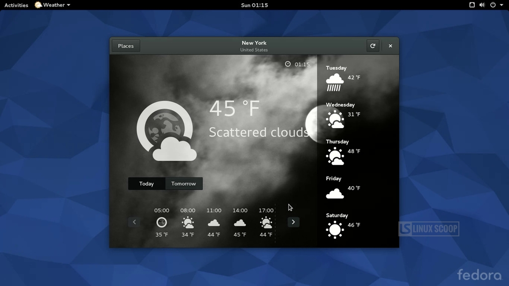 Fedora 22 Alpha Lets Users Test the Beta Version of GNOME 3.16 ...
